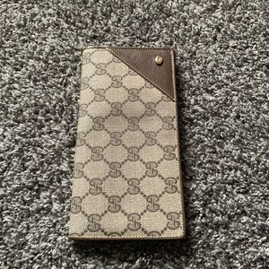 Vintage Gucci Accessories Collection Wallet Brown